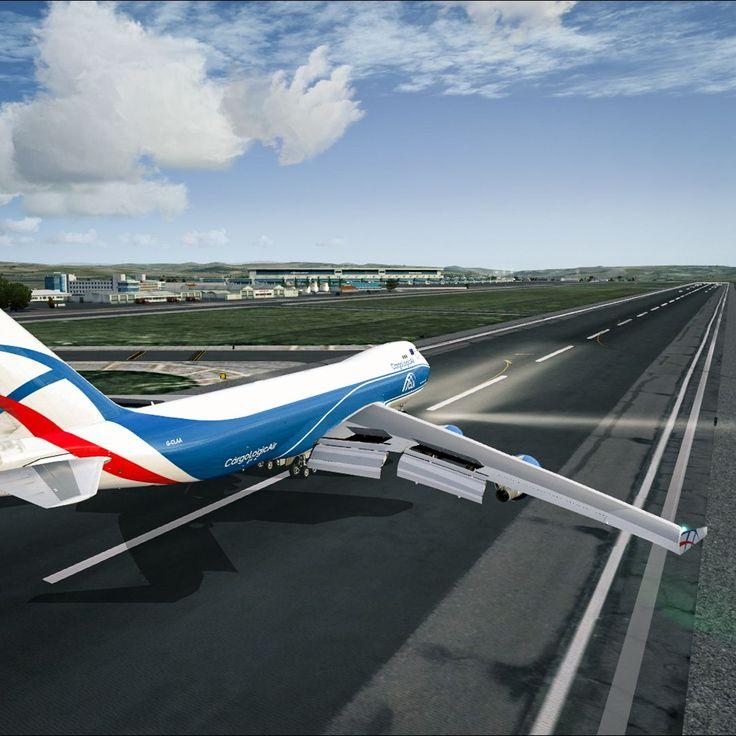Spoilers - Boeing 747  PMDG 747
