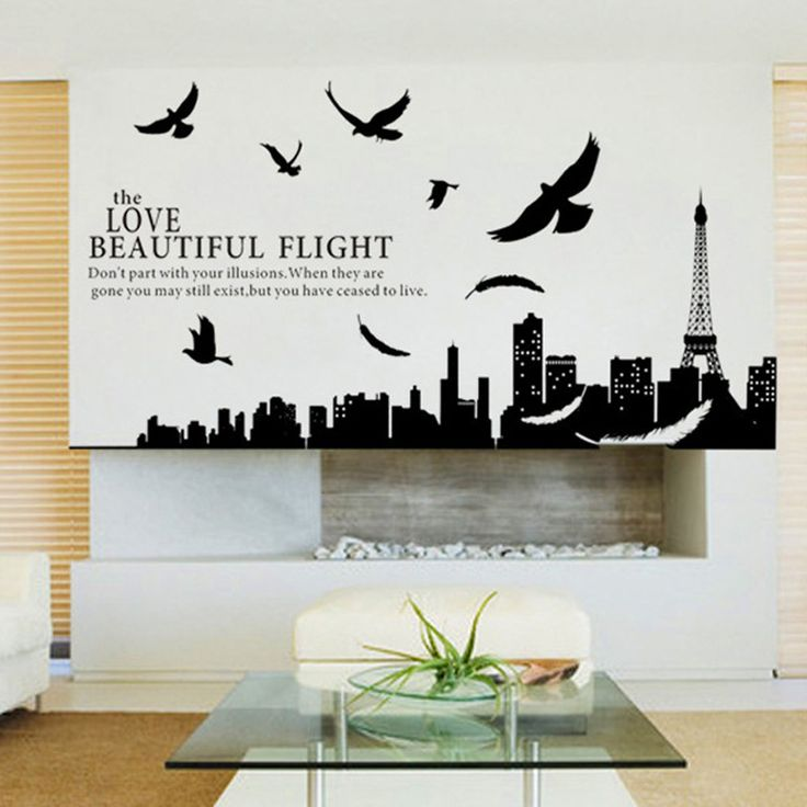 Top  Best Black Wall Stickers Ideas On Pinterest D Wall - How to make vinyl wall decals with silhouette