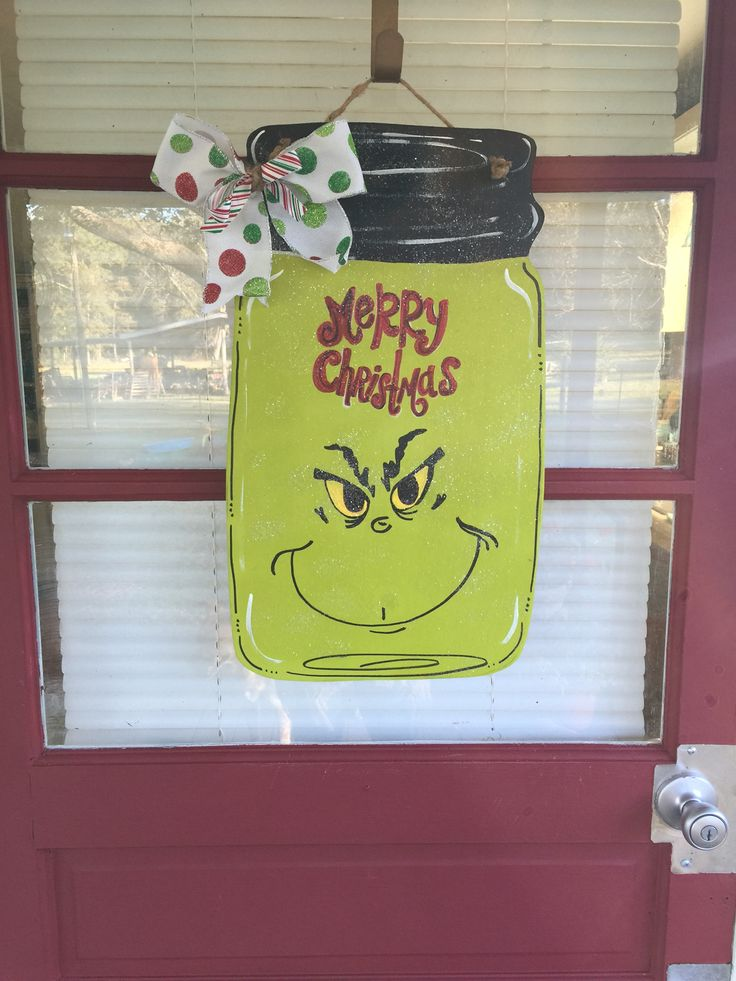 best 25 christmas door hangers ideas on pinterest