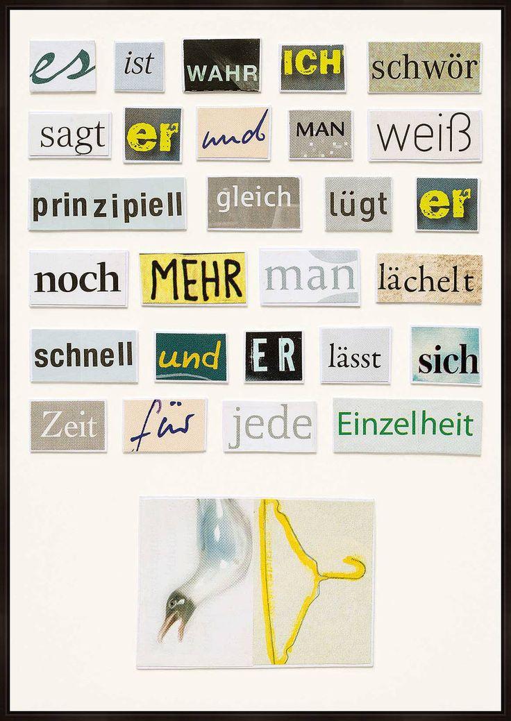 Man lächelt schnell - Herta Müller - Bilder, Fotografie, Foto Kunst online bei LUMAS