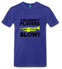 Trumpets Players Blow M