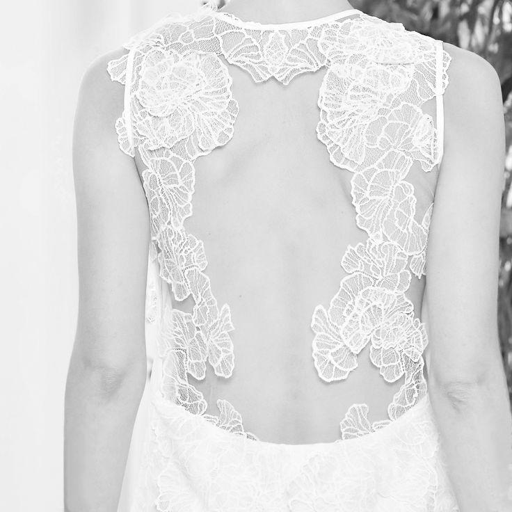 Minuciosos detalles que hacen a cada vestido único.  #TristaneIsoldaNovias