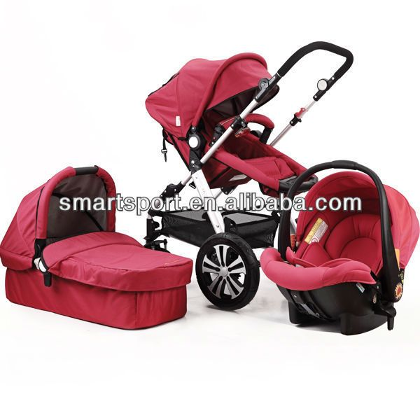 2014 aluminum baby doll stroller with car seat