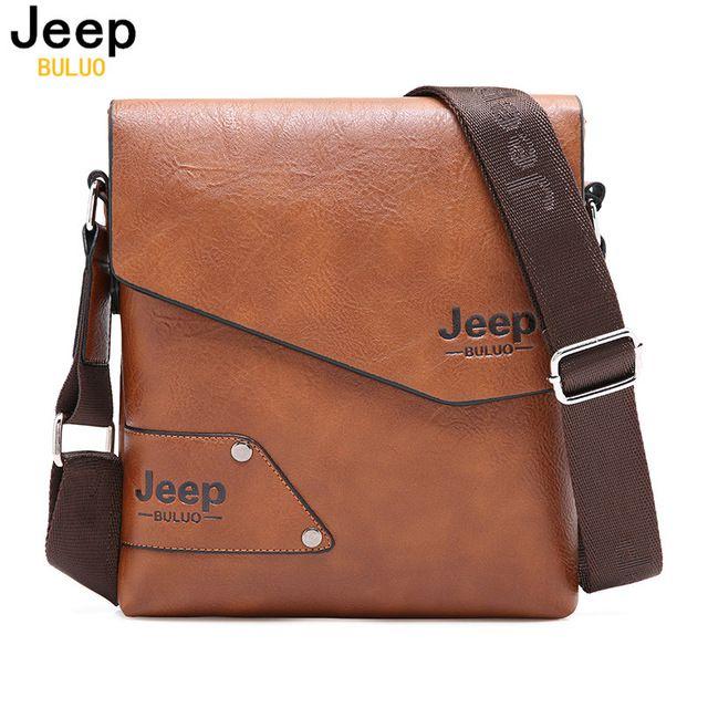 Saco De homem De Couro Marca Jeep Ombro Sacos Crossbody Para Homens Couro Rachado da Vaca Saco de Viagem Masculino saco do Mensageiro Maleta de Negócios iPad