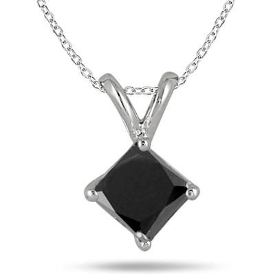 100 best diamond fashion pendants images on pinterest pendant a stunning genuine carat princess cut black diamond set in white gold a stylish black diamond solitaire pendant and a rare princess cut audiocablefo
