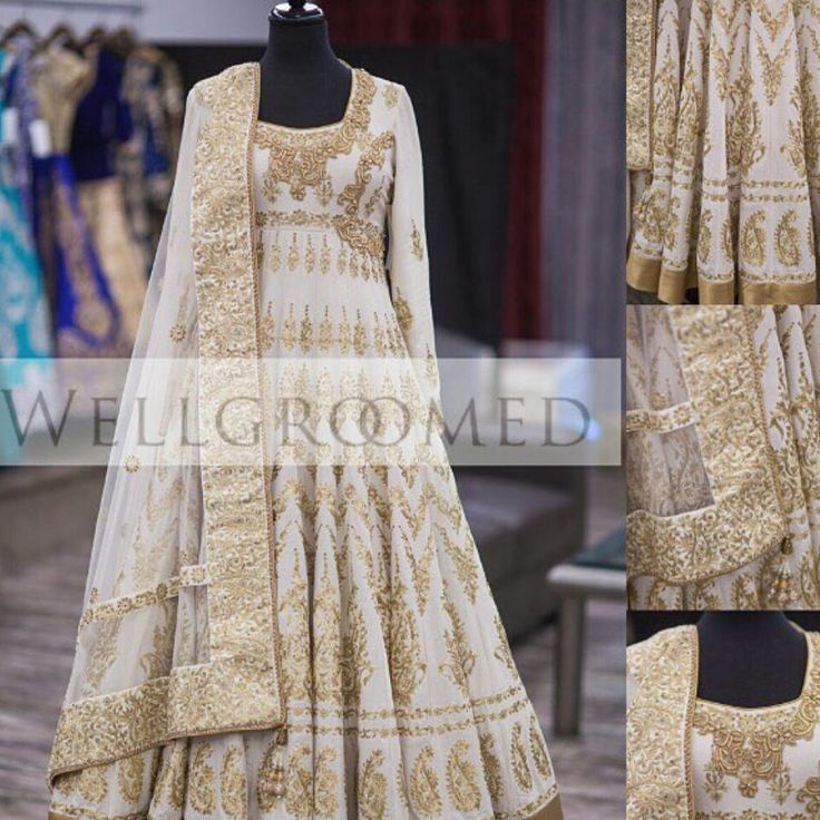How beautiful is this hand crafted anarkali by our preferred vendor @wellgroomedinc !The gold embroidery on white silk screams royalty! Any bride would look stunning in this for any occasion Follow @wellgroomedinc or visit www.planshaadi.com for more contact information #bridal #Planshaadi #planshaadibride #allthingsbridal #southasianweddings #southasianbride #white #gold #royaltystatus #onfleek #ootd #ootn #wellgroomed #customorder