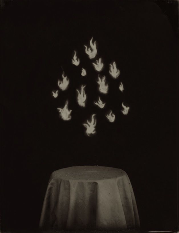 Ben Cauchi, Flames. From: In a Smoke Filled Room, 2005