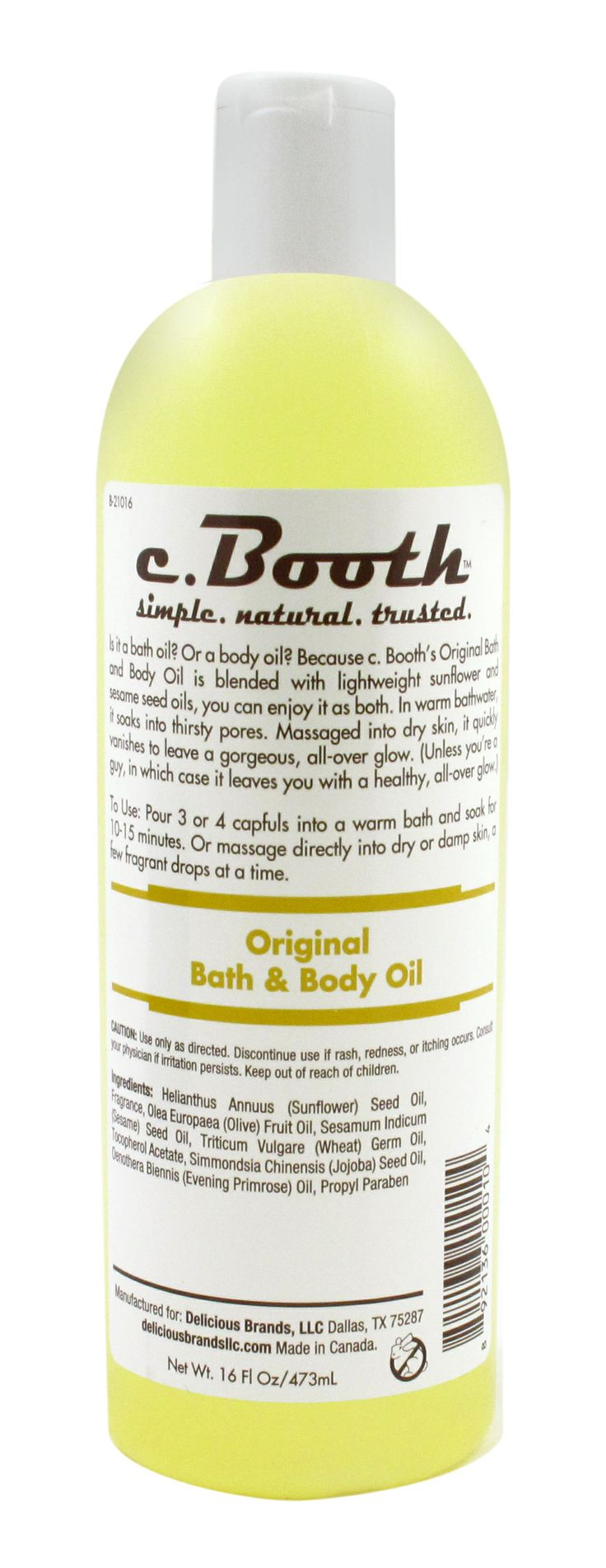 bath time will never be the same again with our bath oil.....
