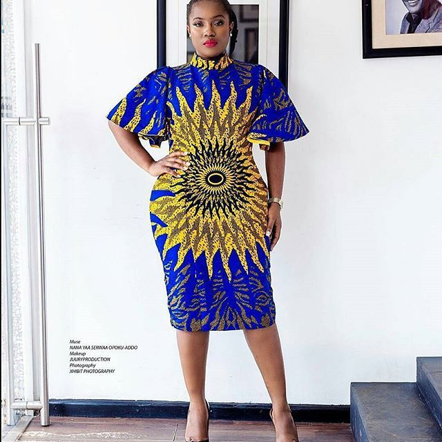 Cute Ankara Simple Gown Styles For All Size And Shape Fashion