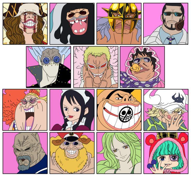 Bagí Kaizokudan© One Piece© Eichiro Oda© Manga anime one