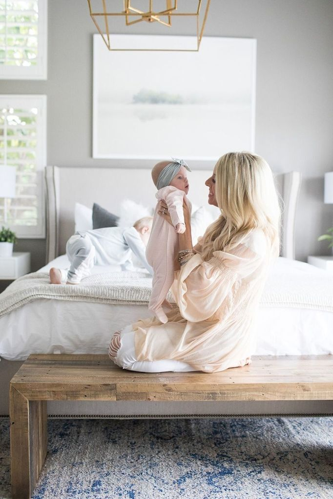 Today I am excited to share the master bedroom of blogger Kailee Wright. Kailee wanted to update her room to create a fresh space with clean, simple decor that still felt timeless. In order to get the