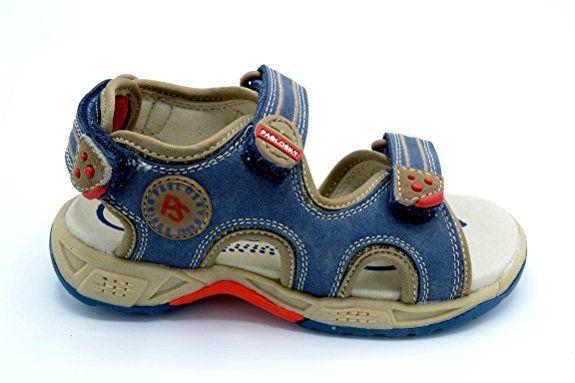 Pablosky 986740 - Sandalia de piel para niño, puntera abierta: Amazon.es: Zapatos y complementos