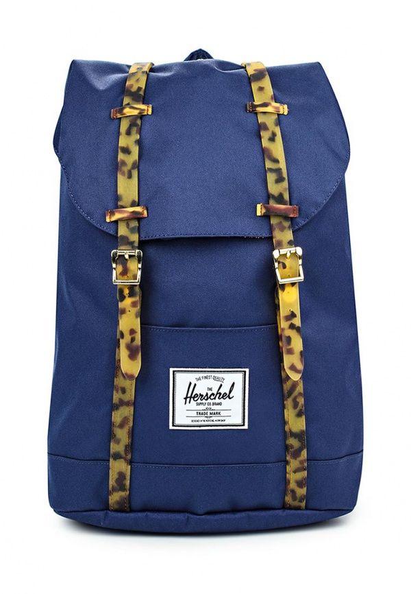 Рюкзак Herschel Supply Co RETREAT Рюкзак Herschel Supply Co. Цвет: синий. Материал: полимер, полиэстер. Сезон: Осень-зима 2016/2017. Спорт и отдых/Рюкзаки