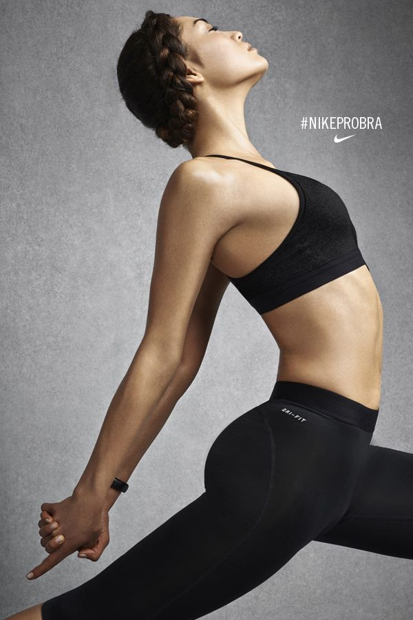 Stretch and move freely in the studio. The Nike Pro Indy. #NikeProBra