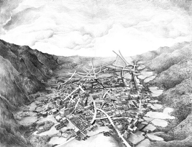 Eleanor Bedlow, Pencil on paper, 133 x 100 cm, 2009