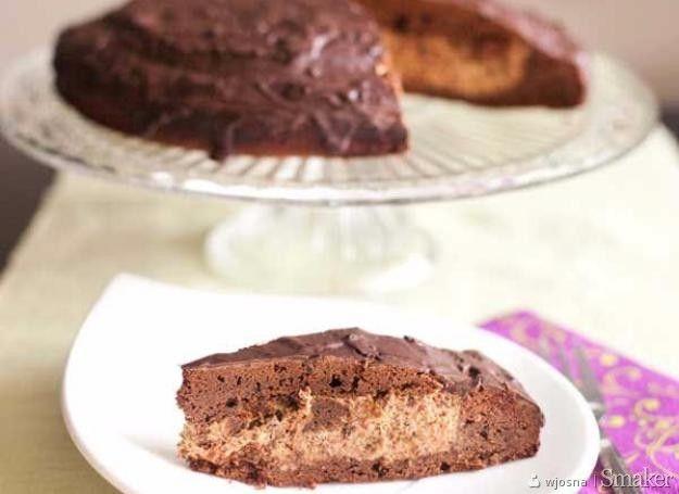 Ciasto czekoladowo-śliwkowe