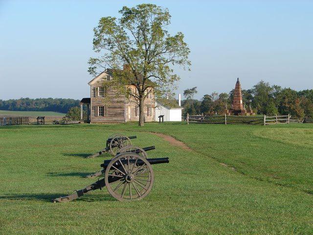Manassas National Battlefield Park: Henry House at Manassas National Battlefield -On July 21,1861 the first major battle of the Civil War