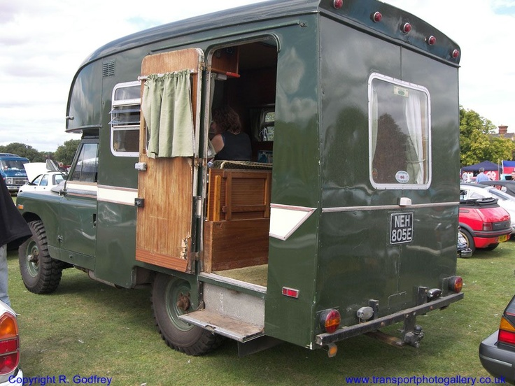17 Best Images About Classic Land Rover Campers On