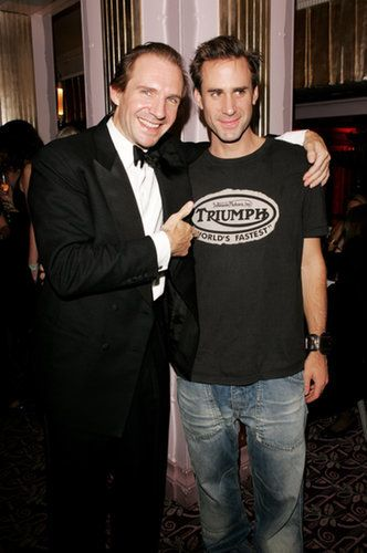 Ralph and Joseph Fiennes Actor Ralph Fiennes is the eldest of six children, including Joseph, who has starred on American Horror Story. His sisters, Martha and Sophia, are both filmmakers, and his brother Magnus is a composer. Joseph also has a twin brother named Jacob, but unlike his siblings, Jacob isn't in the entertainment business — he works as a conservationist overseas. Source: Getty / Claire Greenway