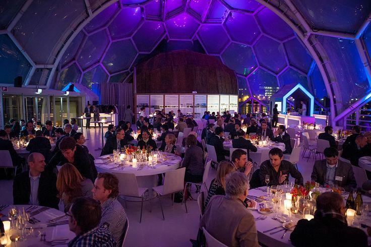 Drijvend Paviljoen unieke evenementenlocatie Rotterdam