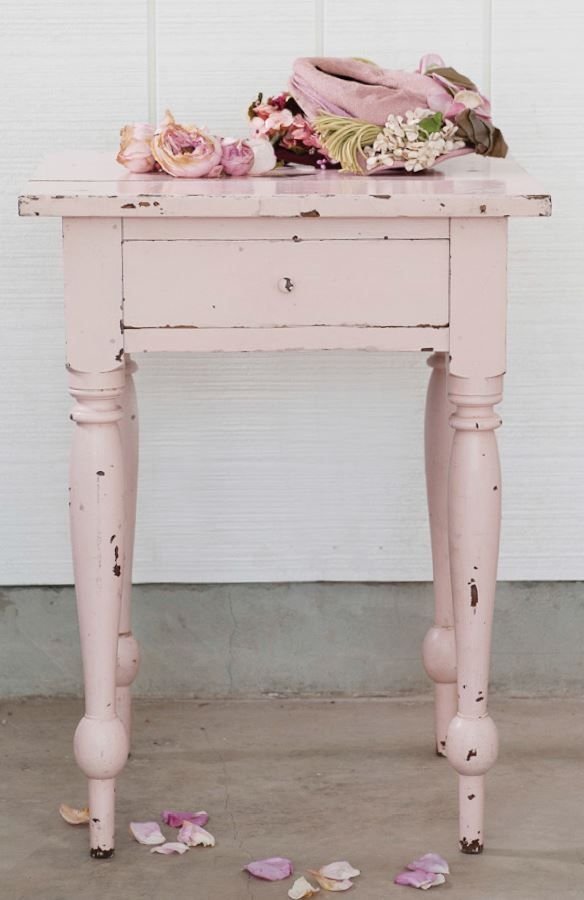 Recreating the Shabby Chic® Look with Chalk and Clay Paint                                                                                                                                                                                 More