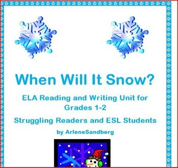 This lesson is a Reading and Writing lesson designed for grades 1-2 or for ESL students at the Low Intermediate level. There are pictures for the k...