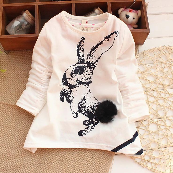 Bunny Long Sleeve Dress – Poppatosh