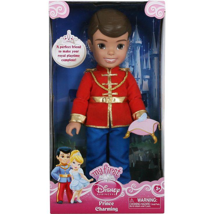 """Prince Charming Doll My First Disney Princess Cinderella 15"""" Toddler Doll NIB #Disney"""