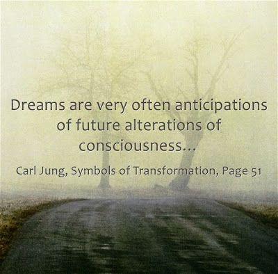 Dreams are anticipations.