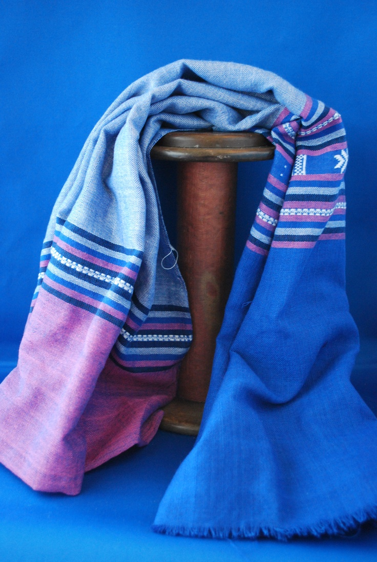 This Vietnamese scarf will take the chill off any fall day