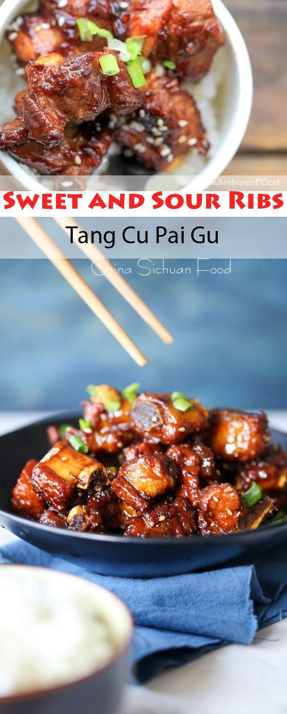 Sweet and Sour Ribs–Tang Cu Pai Gu | China Sichuan Food