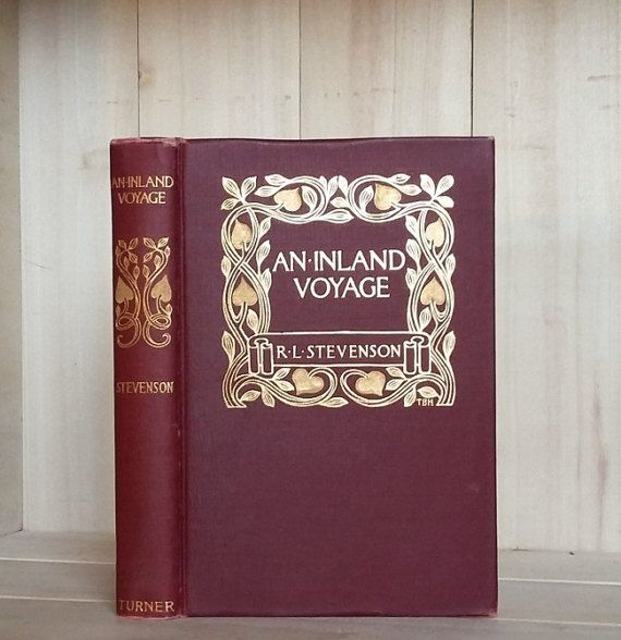 Antique Books 1905 Inland Voyage by Robert by CrookedHouseBooks