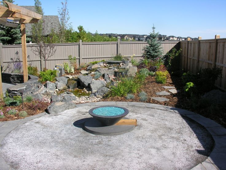 #fire #yyc #backyard #dream #landscaping #outdoor #oasis  www.anandalandscapes.com