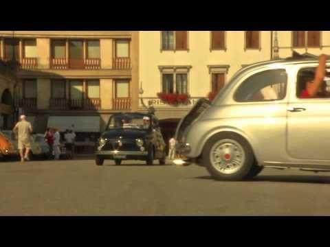 FIAT 500 ALLA CONQUISTA DEL FRIULI 2013...il viaggio inizia - YouTube