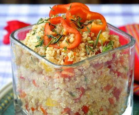 Recipe Lime Salsa Quinoa Salad by smithjol - Recipe of category Side dishes