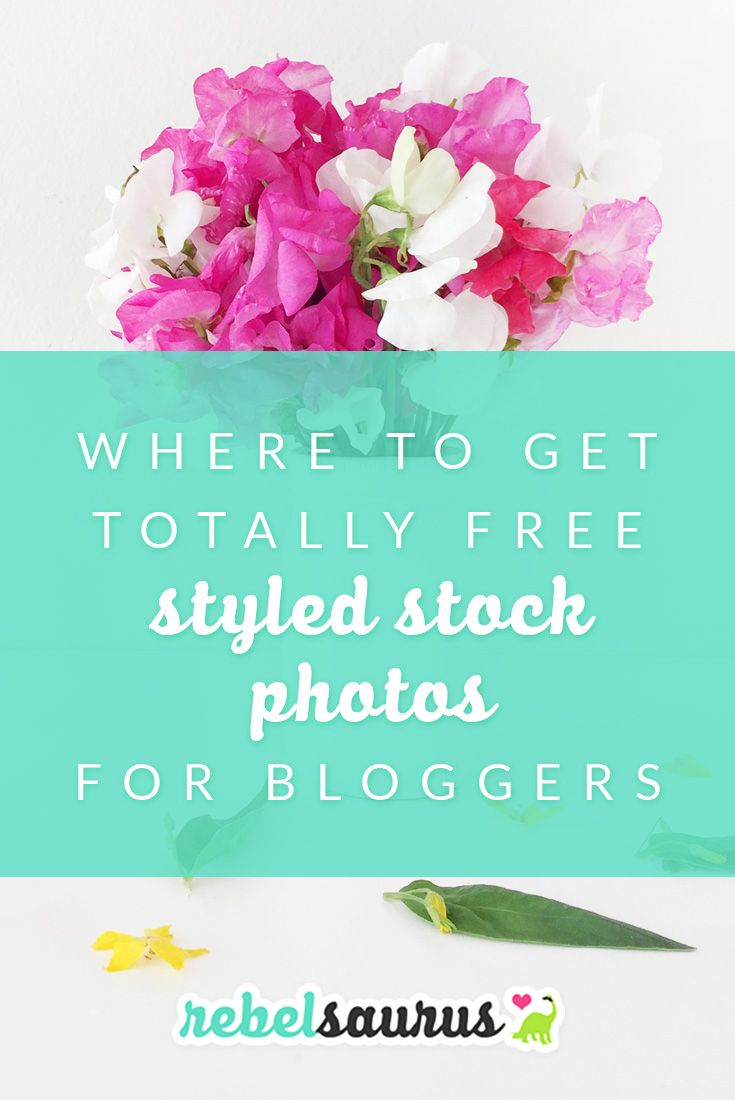 Styled stock photos, or flat lay photos, girly stock photos, or whatever else you call it, are super trendy and all the rage right now. I've started using styled stock photos for Rebelsaurus and it makes my imagery so much cuter with pops of bright colors that match our branding. I've written a post before about some of my favorite premium styled stock photos, so here are my favorite sources for free styled stock photos for bloggers.