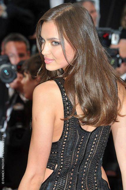 Irina Shayk hair
