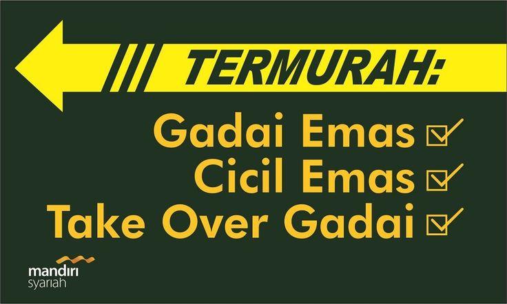 "Spanduk Design+Cetak ""Bank Mandiri Syariah""   depan ITC Depok-Jawabarat Uk. 6 x 4 meter"