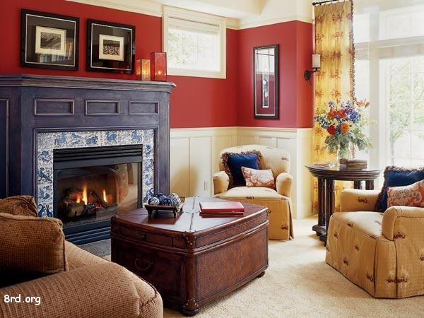 Living Room Paint Ideas Red 77 best paint color ideas for my living & dining rooms images on
