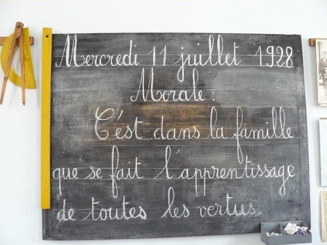 Proville Cambrésis provinfos: ateliers-à l'école d'autrefois à Château-Chalon dans le Jura (3)