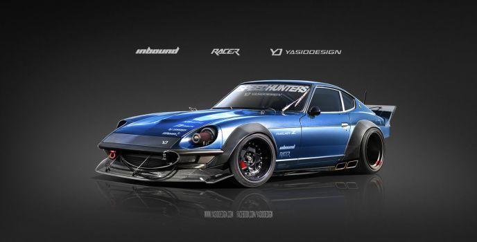 Inbound Racer 240Z Datsun Nissan by yasiddesign – Serdar Aras