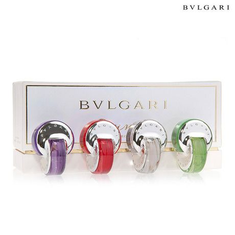 4-Piece Set: Bvlgari Omnia Miniature Collection for Her - 0.17oz EDT Each at 60% Savings off Retail!