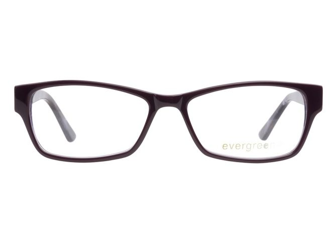 Evergreen Glasses | Evergreen 6014 Dark Purple - ClearlyContacts.ca