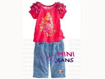 GS1157, @113k, Bahan : Spandek Katun, Jeans.  Warna : Pink.  Ket : Untuk anak usia sekitar 1 - 6 tahun.