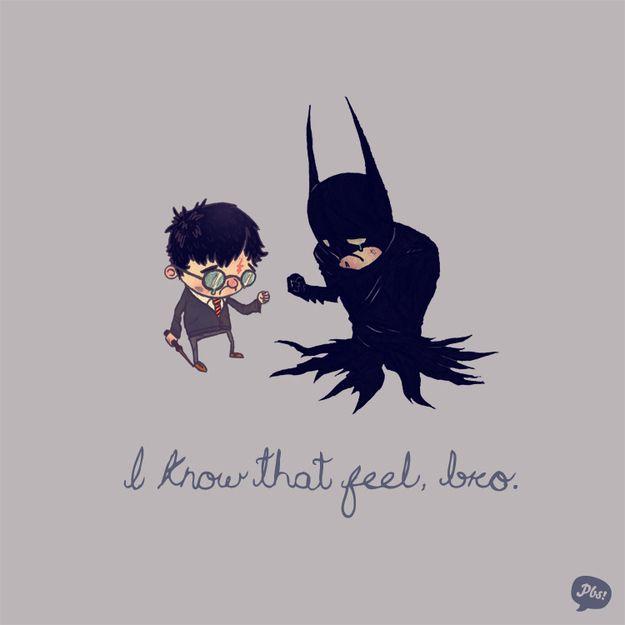 Sad.....tragic.....too good: Pop Culture, Parents, Living Spaces, The Artists, Illustration, Harry Potter, Super Heroes, So Sad, Superhero