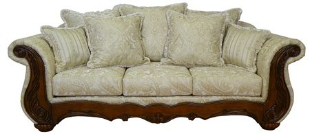 Newer Victorian Sofa | Details about Sofa / Loveseat Victorian French Reproduction Furniture