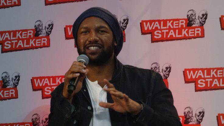 Q&A Kenric Green (the Walking Dead) at Walker Stalker Con London