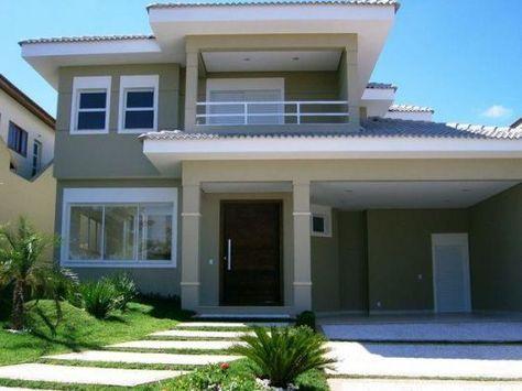 25 b sta pintura fachadas id erna p pinterest pintura for Modificaciones de casas pequenas
