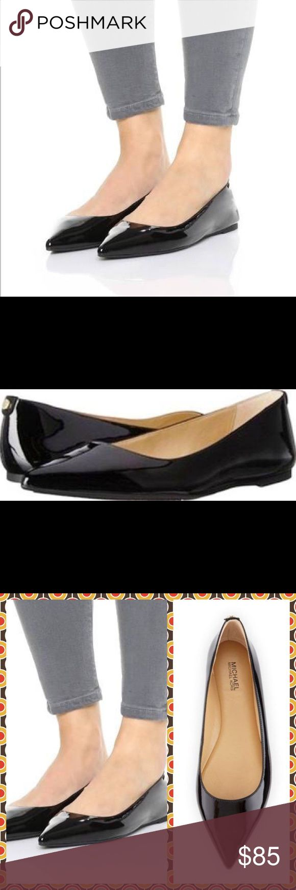 Michael Kors Black Patent Leather Shoe Michael Kors Arianna Black Pointed Toe Flat Shoe, NWOTB. MICHAEL Michael Kors Shoes Flats & Loafers