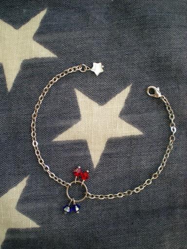 home-made patriotic jewelry